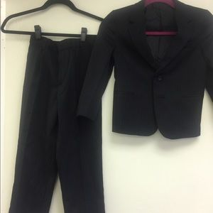 Other - Suit boy size 7 with white shirt size 8